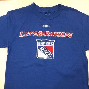 Reebok New York Rangers short sleeve t-shirt